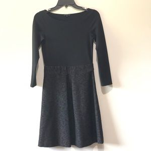 theory Black A line Long Sleeves Dress size 2